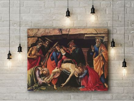 Sandro Botticelli: Passion of Christ. Religious Fine Art Canvas.